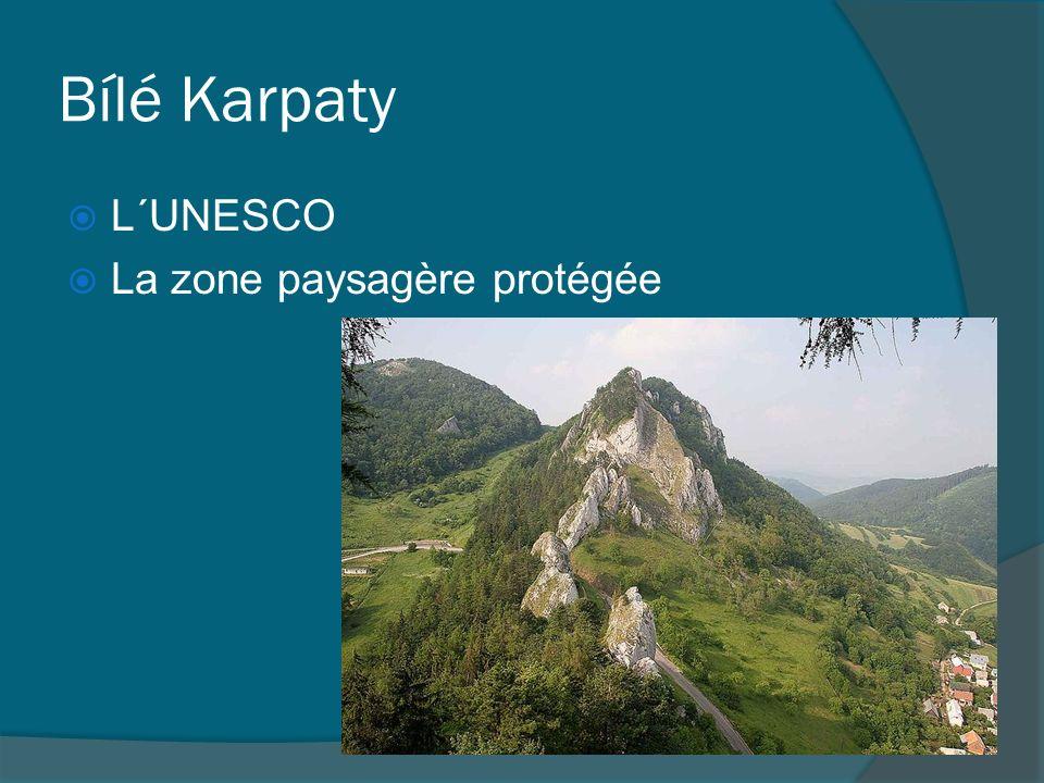 Bílé Karpaty L´UNESCO La zone paysagère protégée