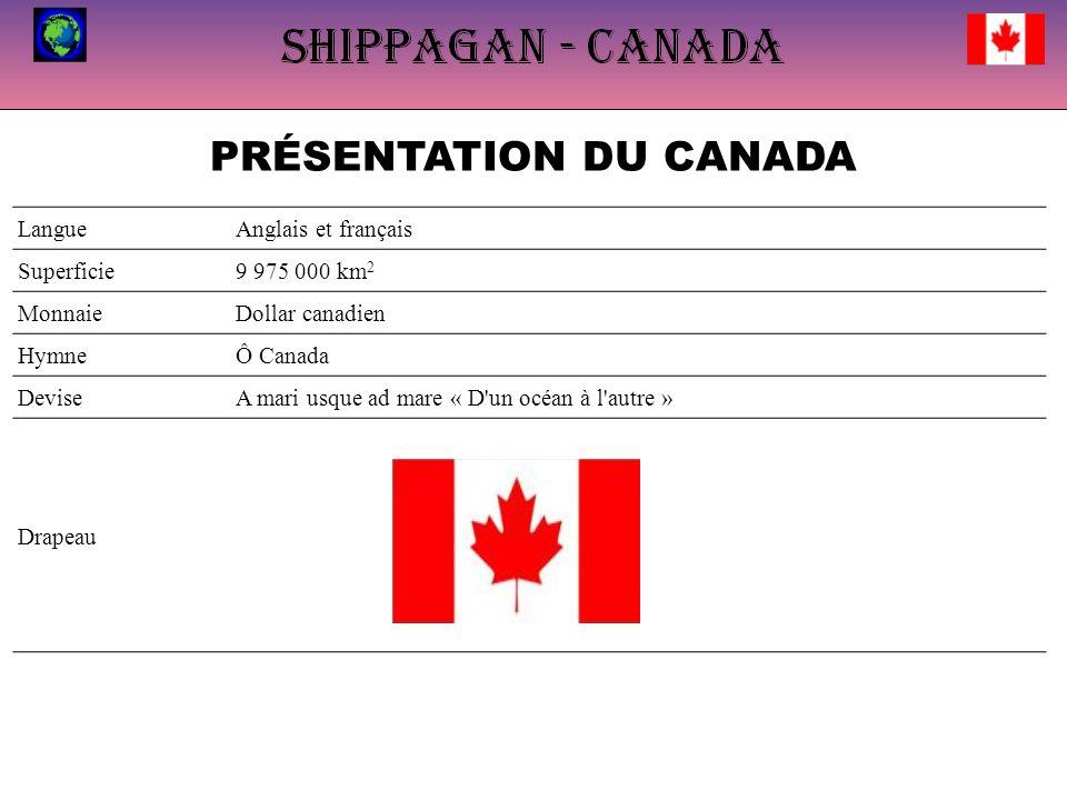 PRÉSENTATION DU CANADA