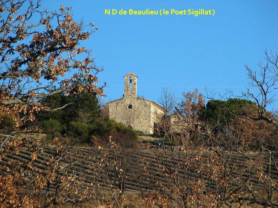 N D de Beaulieu ( le Poet Sigillat )
