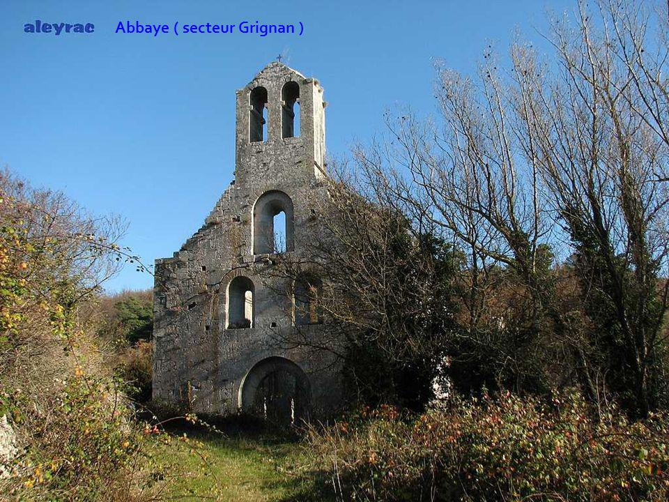 Abbaye ( secteur Grignan )
