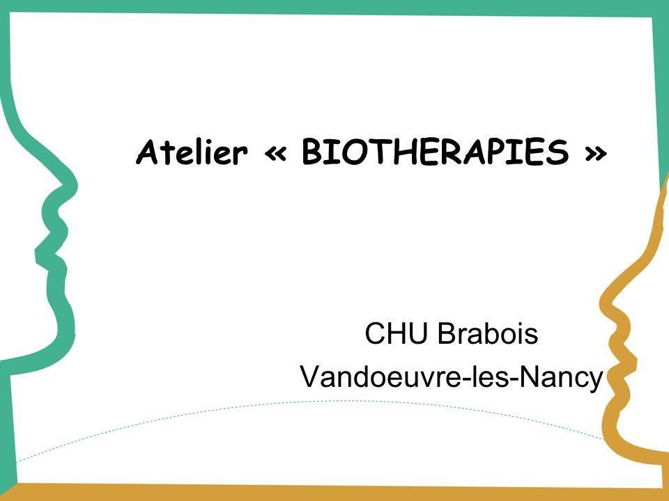 Atelier « BIOTHERAPIES »