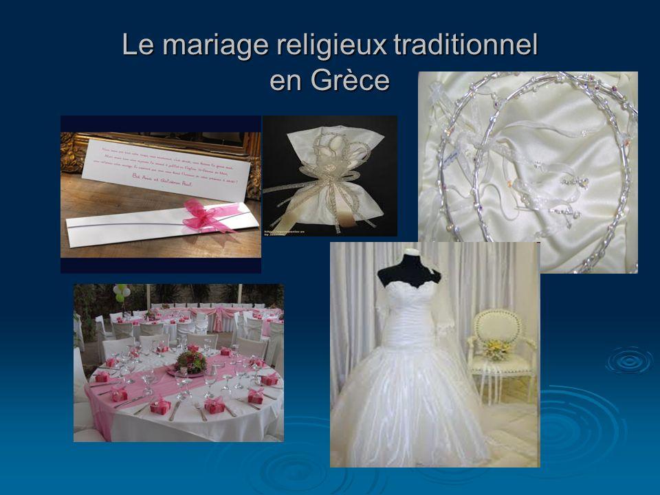 Le mariage religieux traditionnel en Grèce