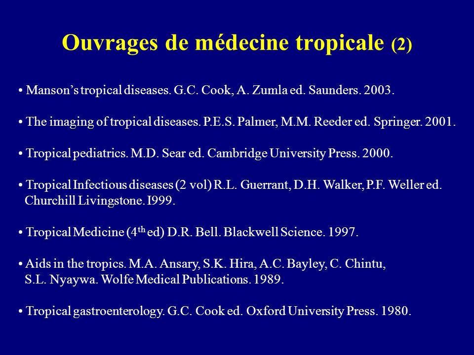 Ouvrages de médecine tropicale (2)