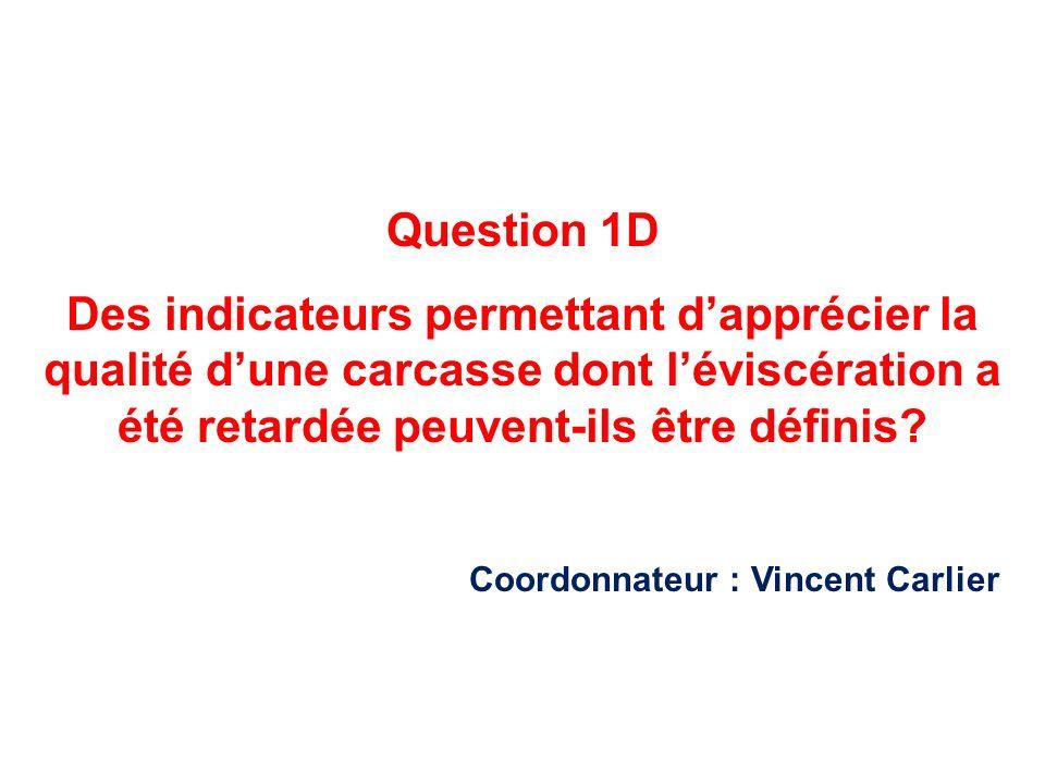 Coordonnateur : Vincent Carlier