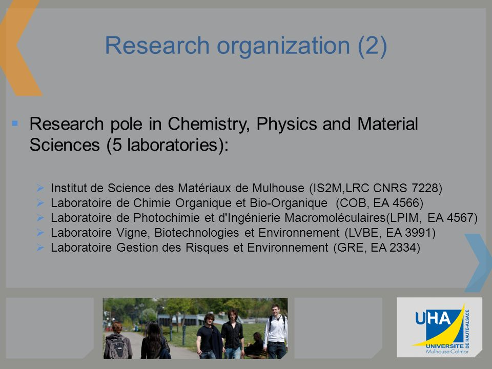 Research organization (2)