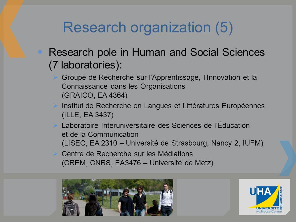 Research organization (5)