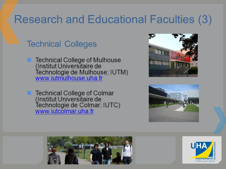Research and Educational Faculties (3)