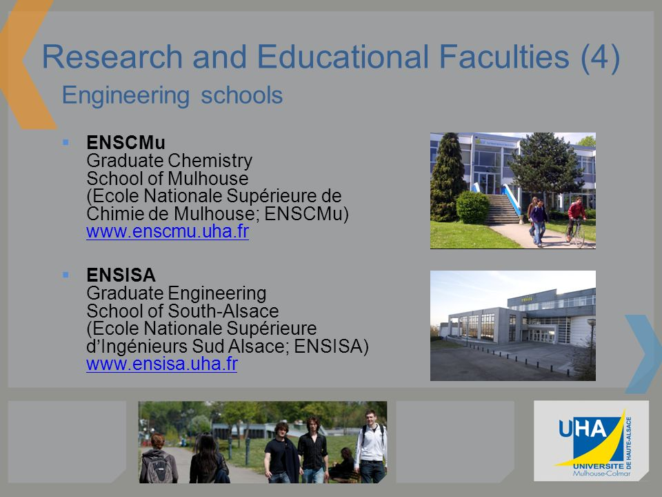 Research and Educational Faculties (4)