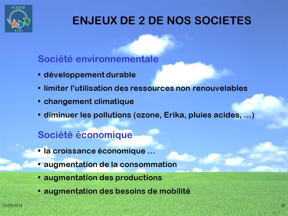 ENJEUX DE 2 DE NOS SOCIETES