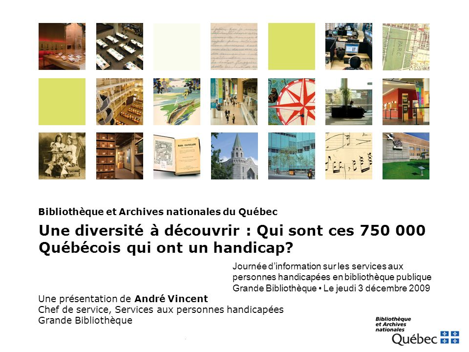 Bibliothèque et Archives nationales du Québec