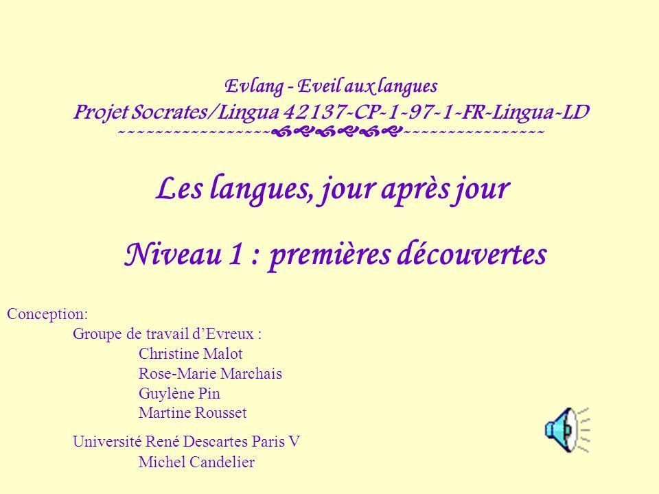 Evlang - Eveil aux langues