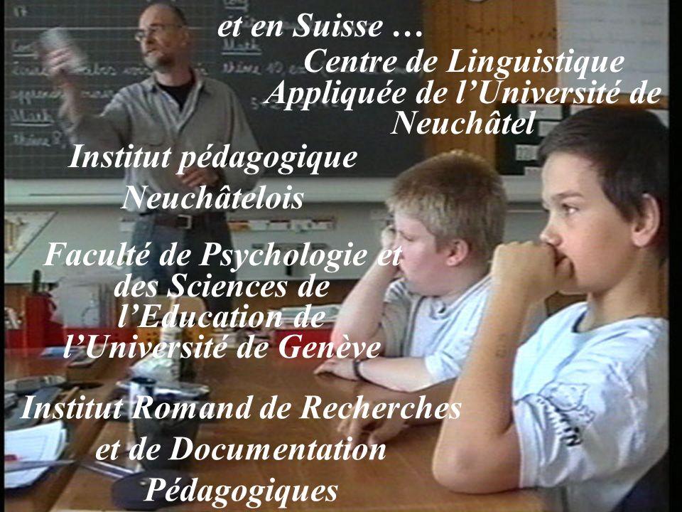 Centre de Linguistique Appliquée de l'Université de Neuchâtel