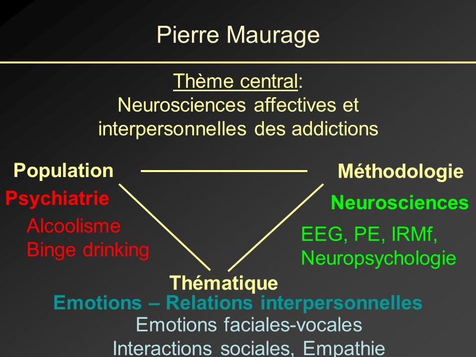 Emotions – Relations interpersonnelles