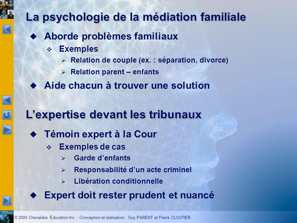 La psychologie de la médiation familiale