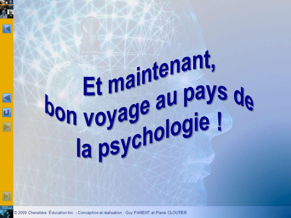 Et maintenant, bon voyage au pays de la psychologie !