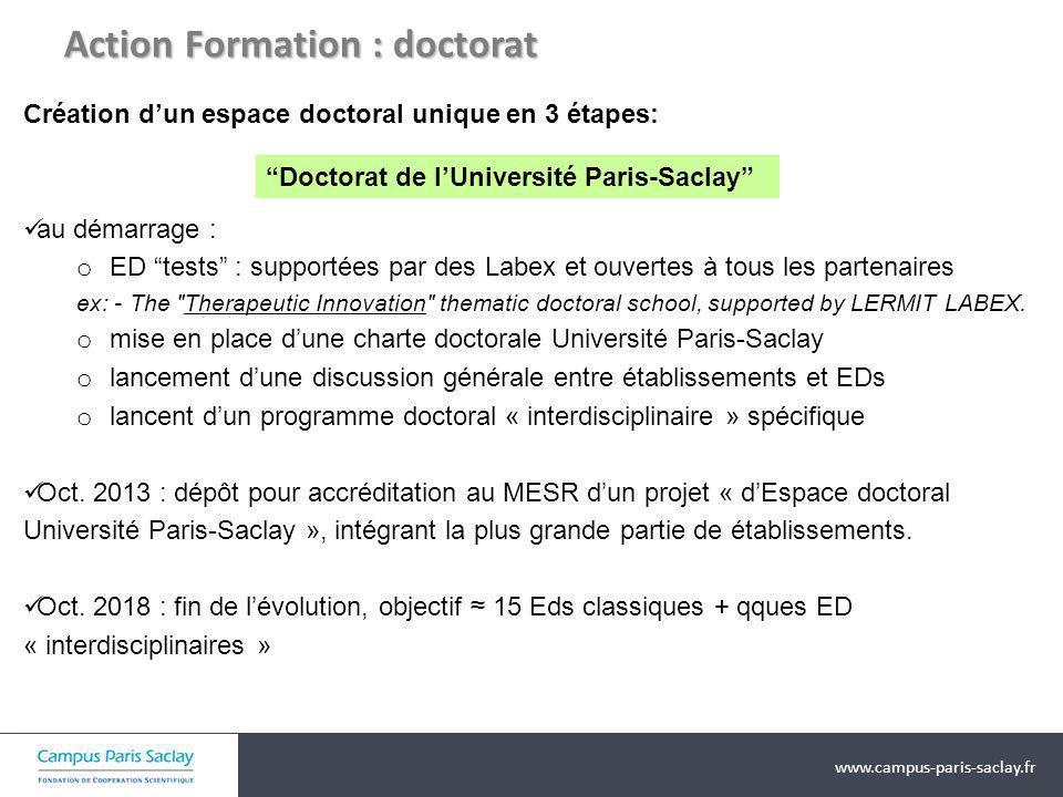 Action Formation : doctorat