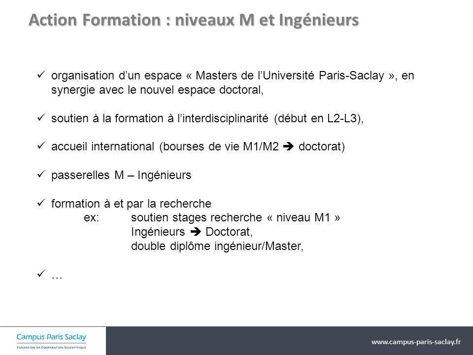 Action Formation : niveaux M et Ingénieurs