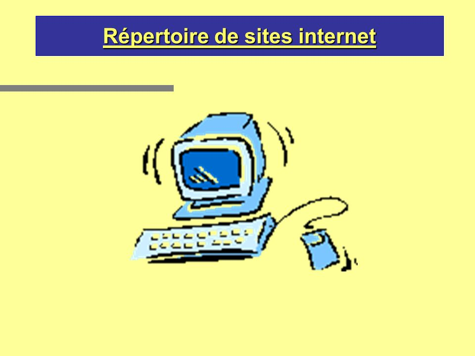 Répertoire de sites internet