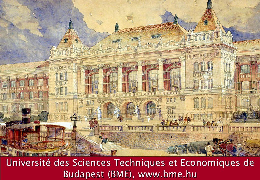 Université des Sciences Techniques et Economiques de Budapest (BME), www.bme.hu