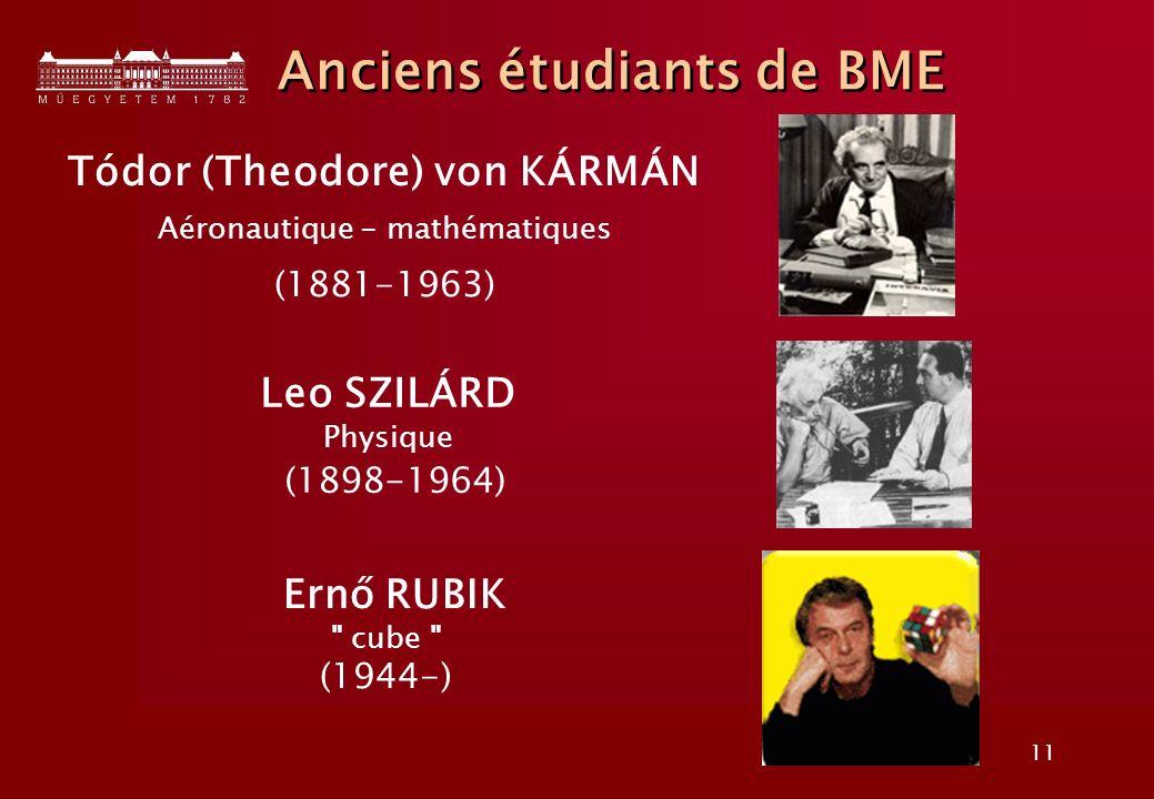 Anciens étudiants de BME