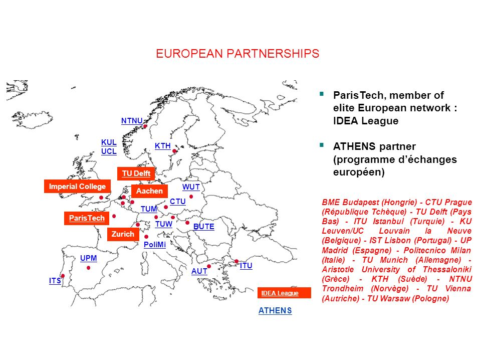 EUROPEAN PARTNERSHIPS