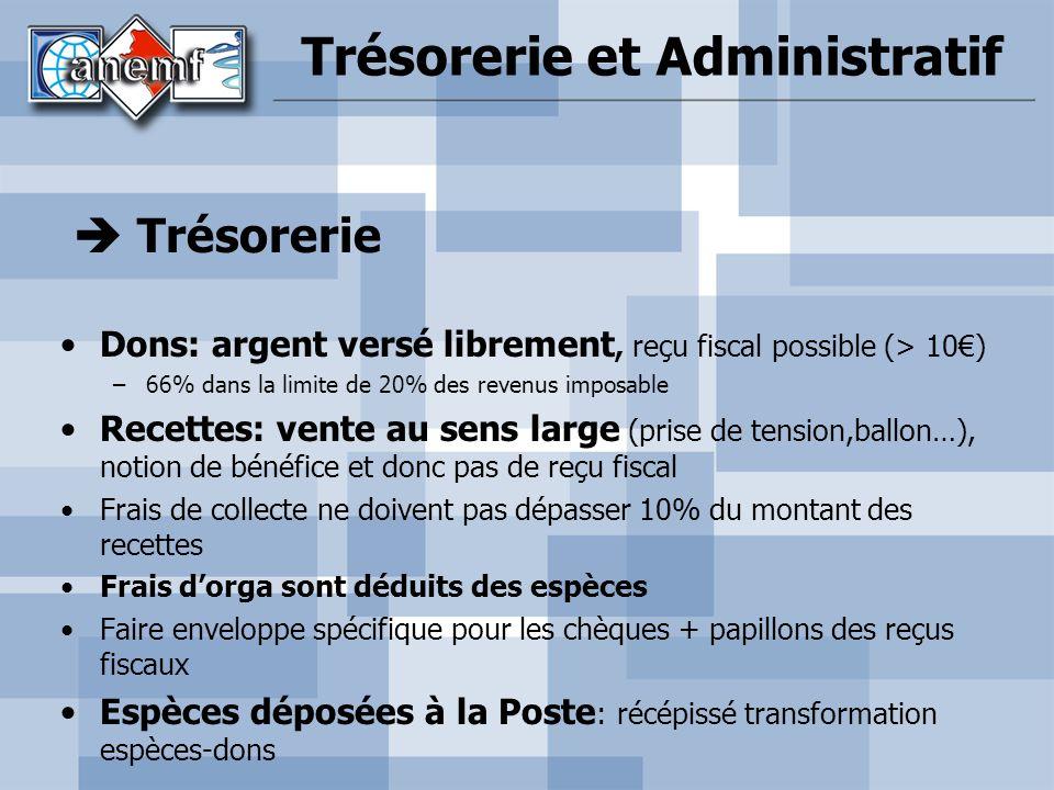 Trésorerie et Administratif