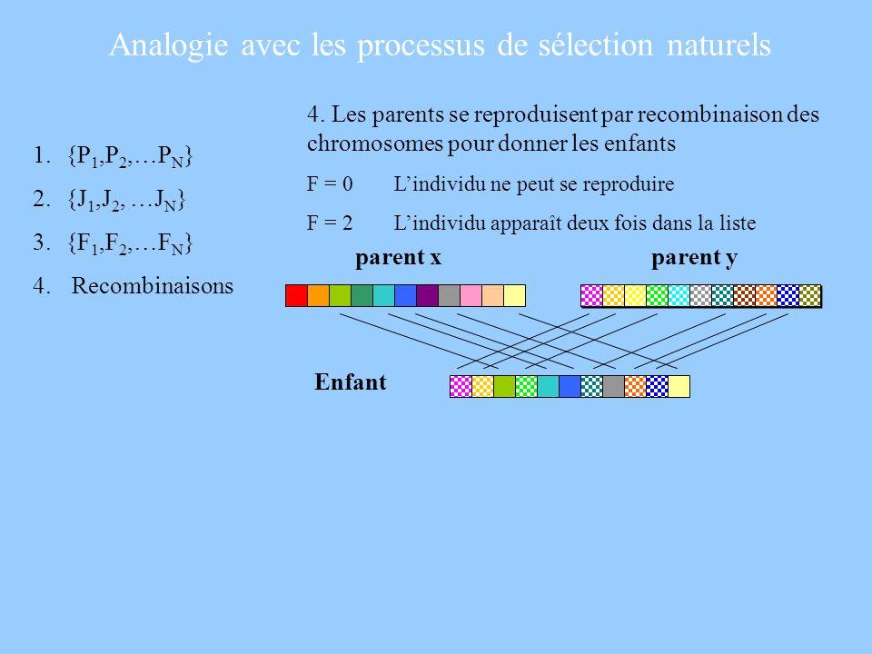 Analogie avec les processus de sélection naturels
