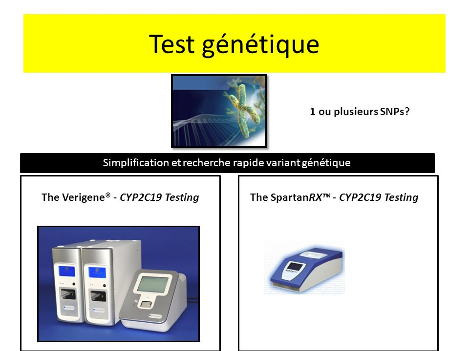 The Verigene® - CYP2C19 Testing