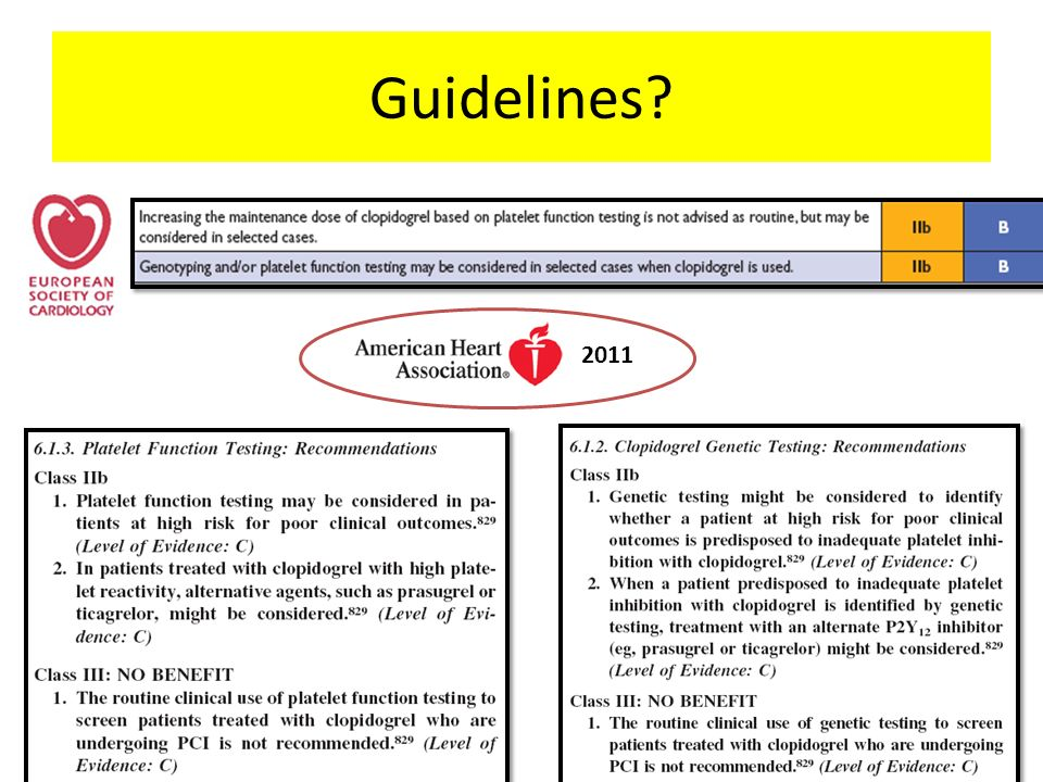 Guidelines 2011