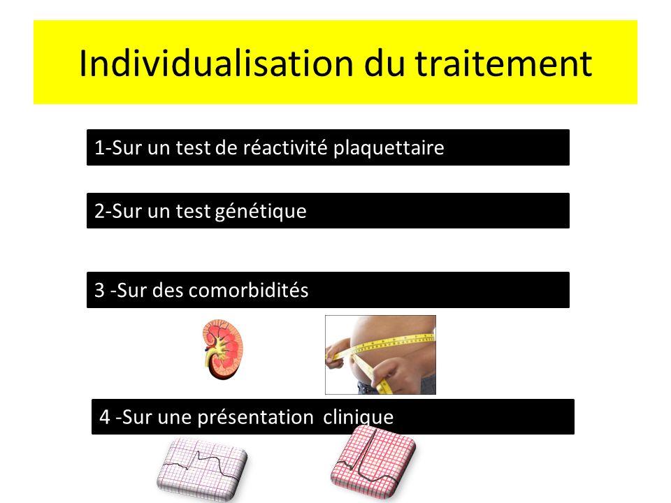 Individualisation du traitement