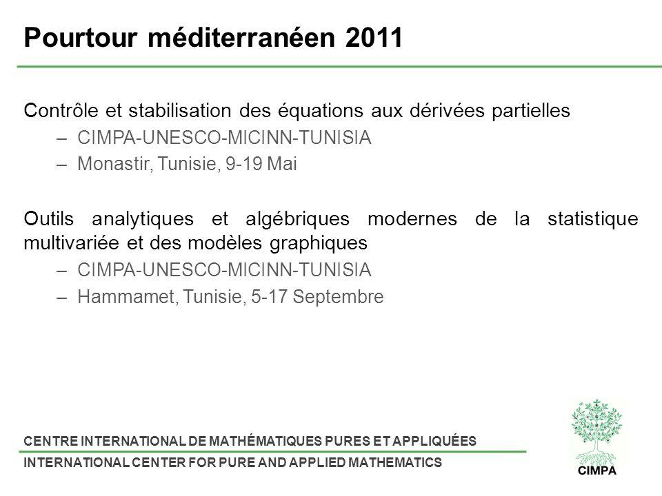Pourtour méditerranéen 2011