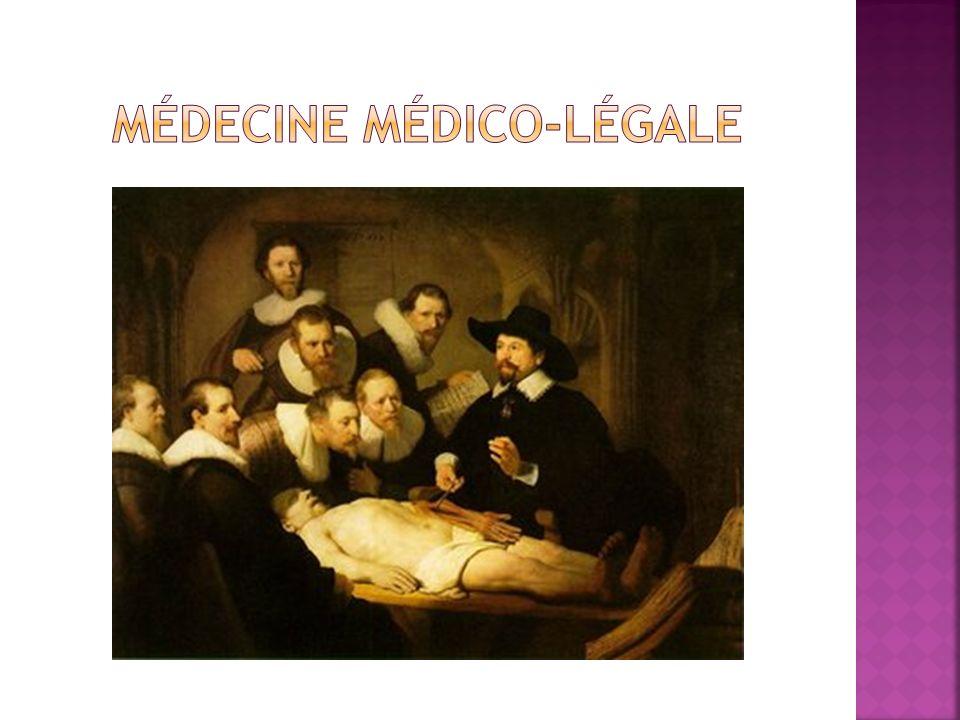 Médecine médico-légale