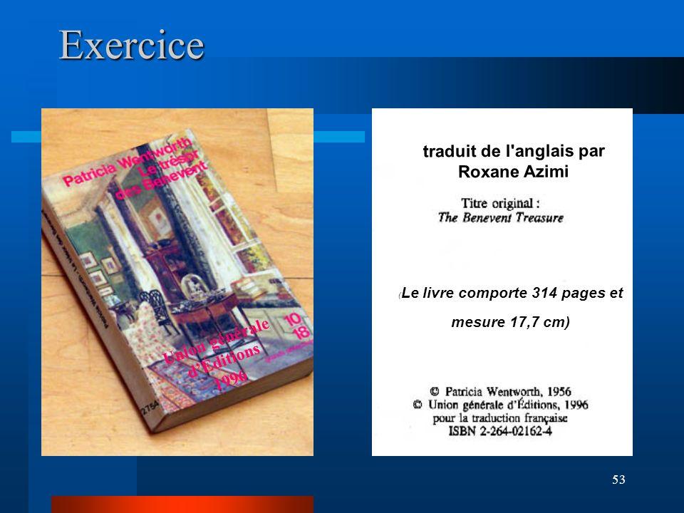 traduit de l anglais par Roxane Azimi Union générale d'Éditions 1996
