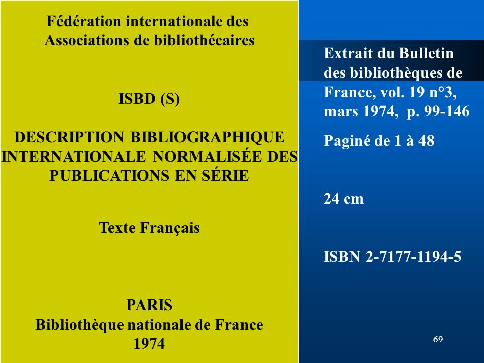 Fédération internationale des Associations de bibliothécaires
