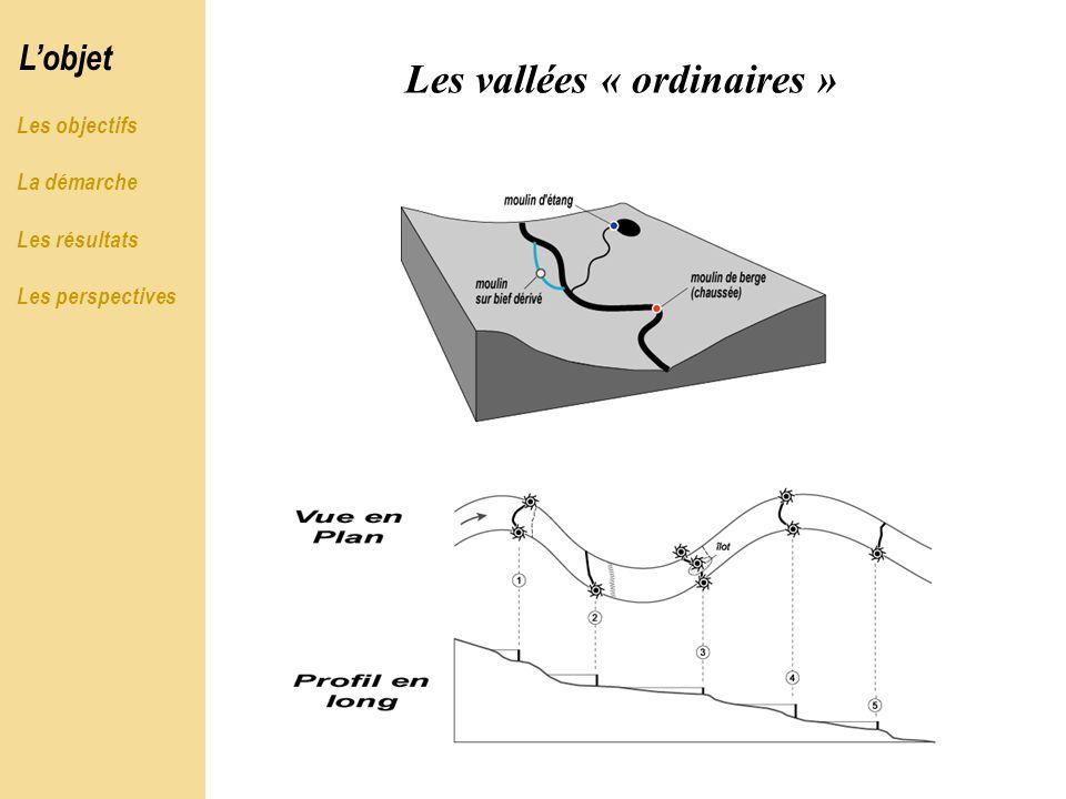 Les vallées « ordinaires »