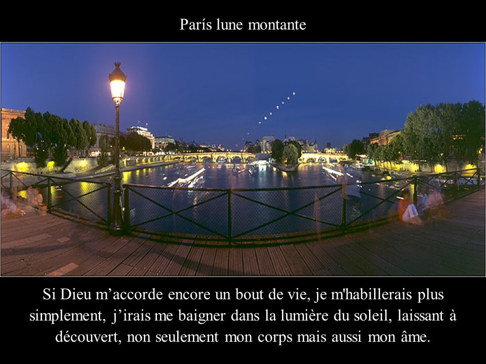 París lune montante