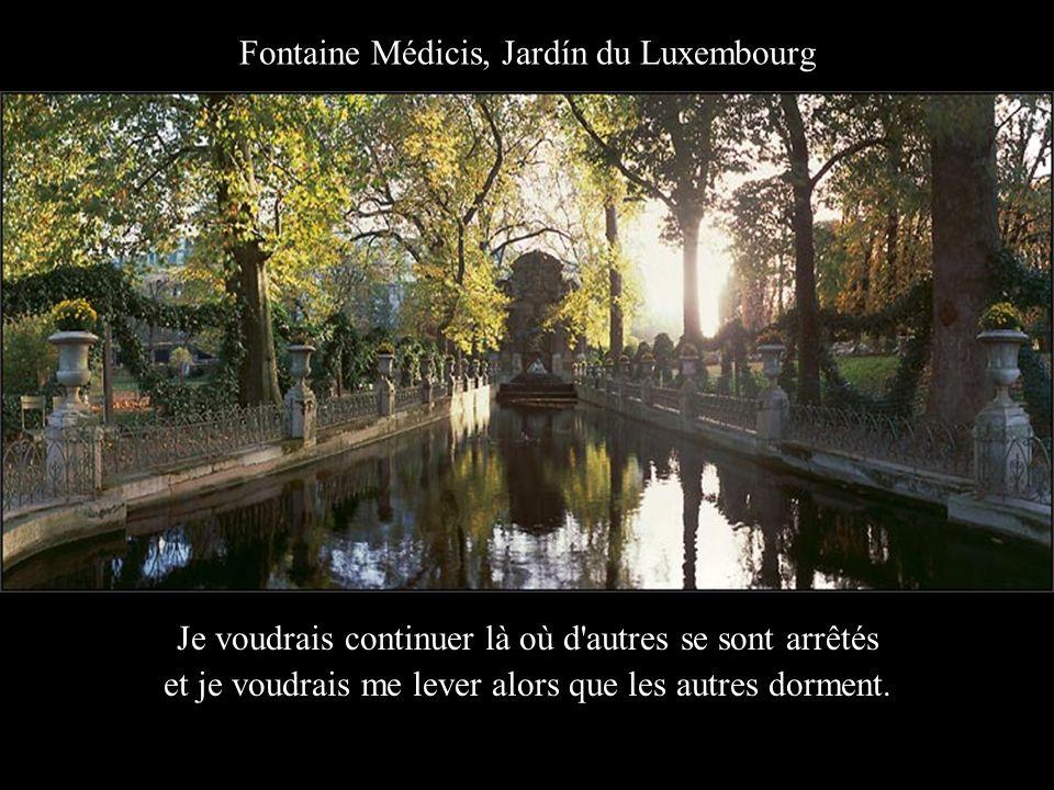 Fontaine Médicis, Jardín du Luxembourg