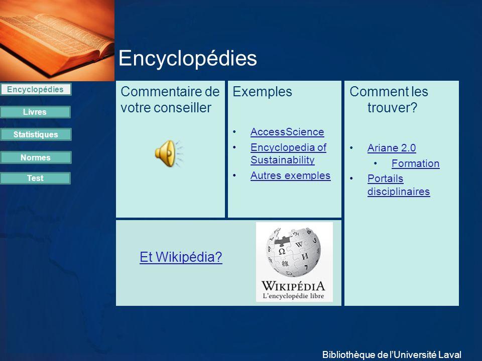 Encyclopédies avoir une vue d ensemble sur un sujet