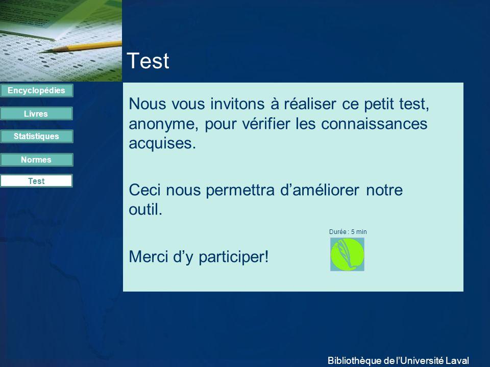 Test Encyclopédies.