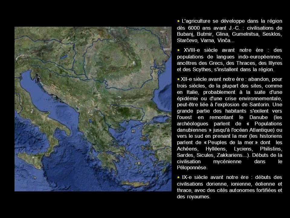 L agriculture se développe dans la région dès 6000 ans avant J. -C