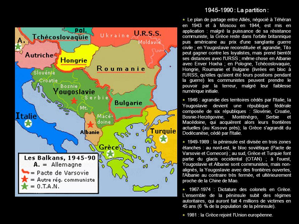 * 1981 : la Grèce rejoint l Union européenne.