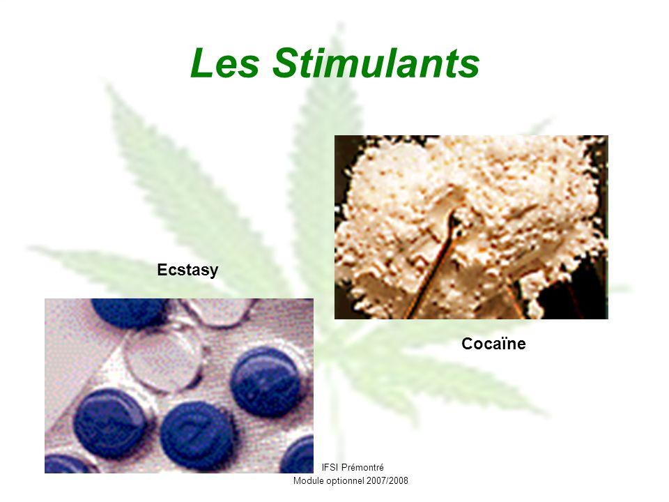 Les Stimulants Ecstasy Cocaïne IFSI Prémontré