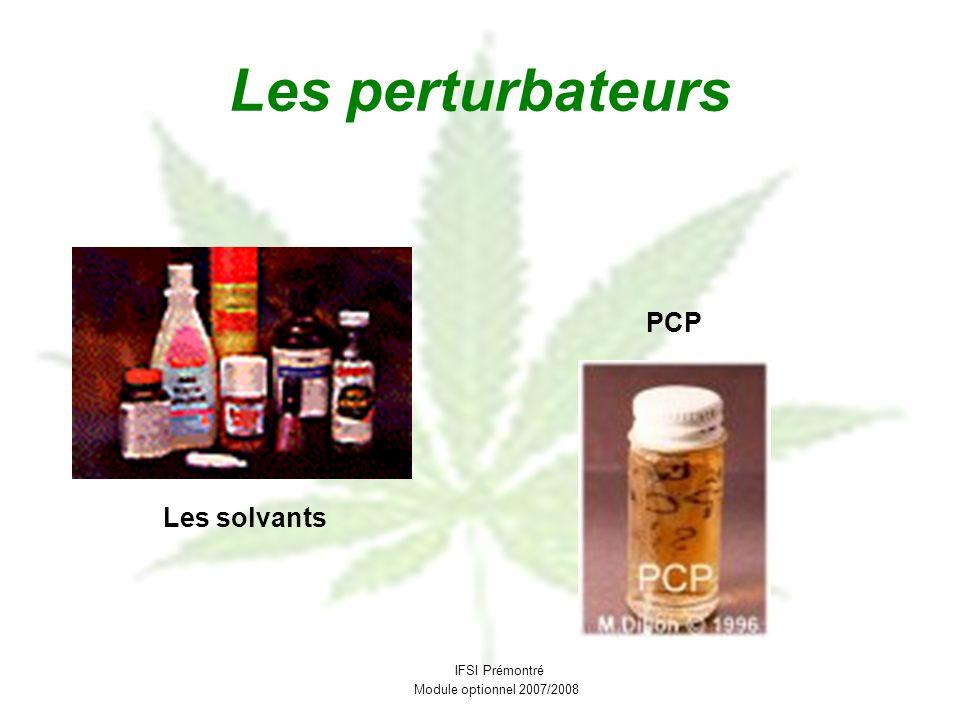Les perturbateurs PCP Les solvants IFSI Prémontré