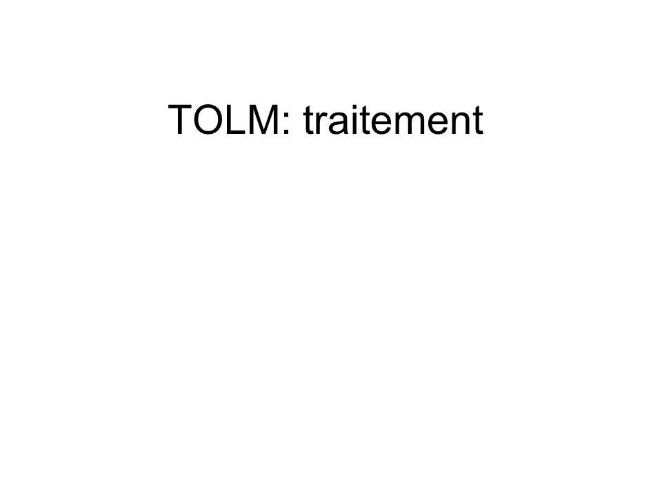 TOLM: traitement