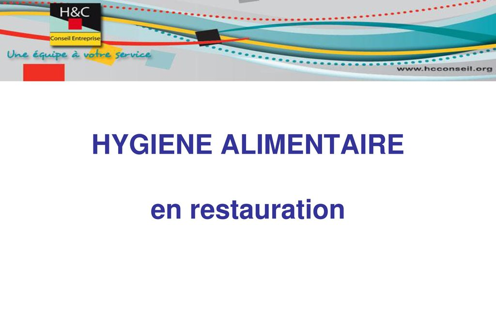 HYGIENE ALIMENTAIRE en restauration