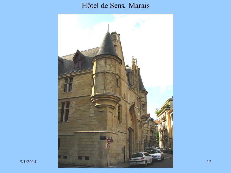 Hôtel de Sens, Marais 3/30/2017