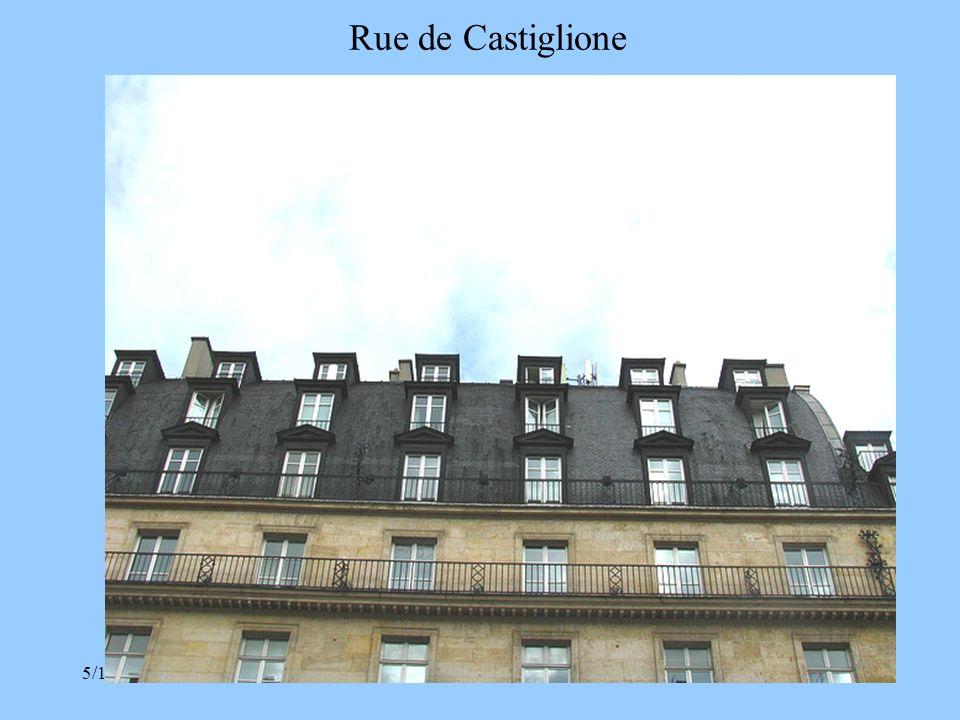 Rue de Castiglione 3/30/2017