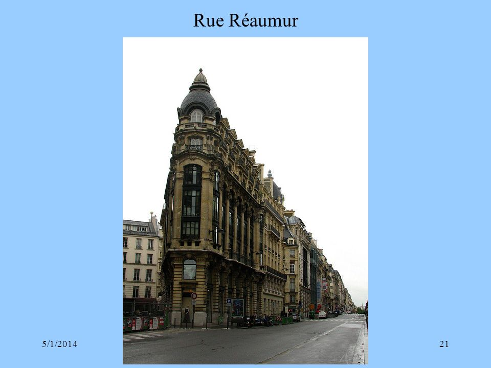 Rue Réaumur 3/30/2017