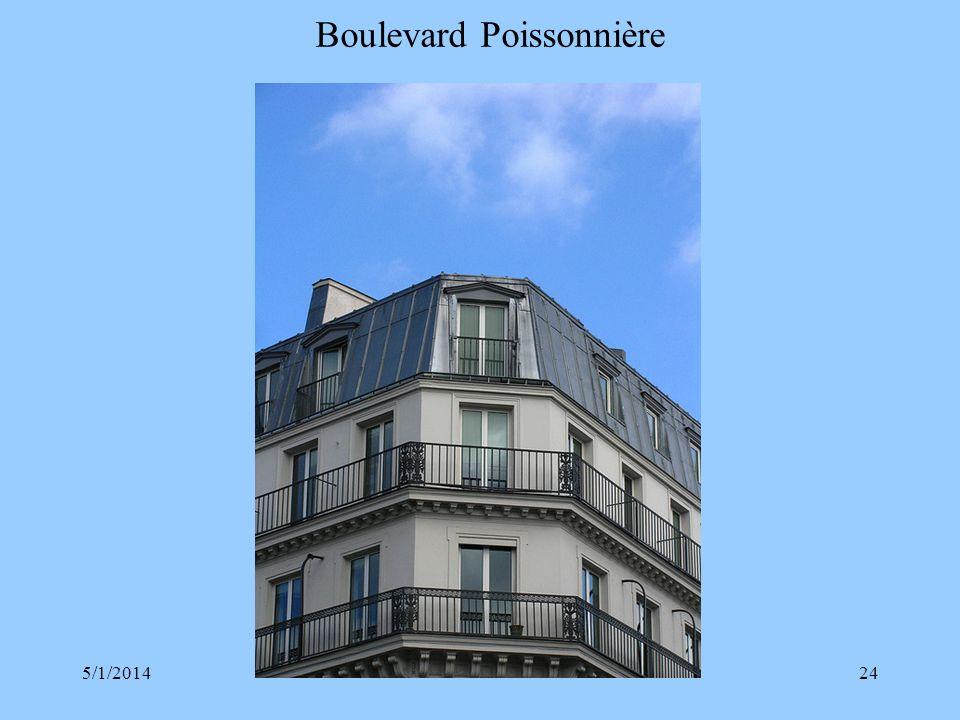 Boulevard Poissonnière