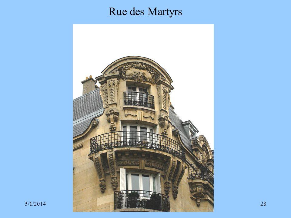 Rue des Martyrs 3/30/2017